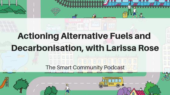 Episode91_LarissaRose_SmartCommunityPodcast_BlogTitleImage